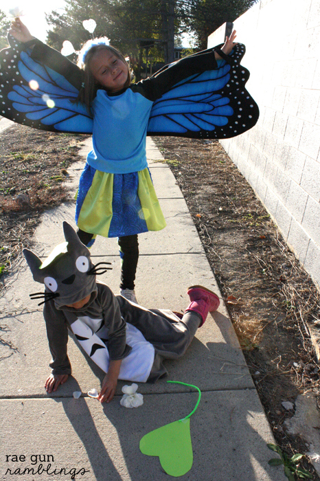 Butterfly Gir and Totoro Costumes - Rae Gun Ramblings