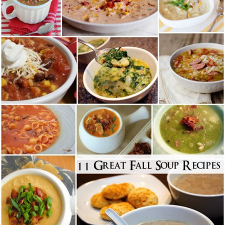 Delicious Easy Fall soup recipe round up - Rae Gun Ramblings