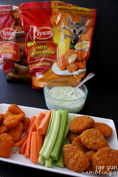 Quick avocado ranch dip recipe perfect to fancy up frozen nuggets at Rae Gun Ramblings #LoveUrNuggets #cbias #ad
