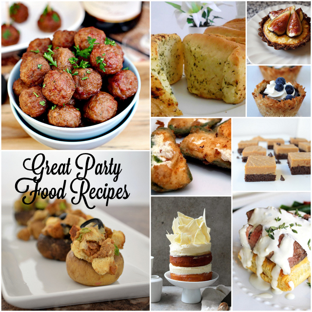 A bunch of great ideas for New Years Eve party food - Rae Gun Ramblings