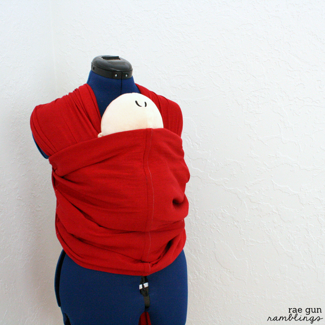 Baby carrier instructions. Just like the Moby wrap but at a fraction of the cost - Rae Gun Ramblings