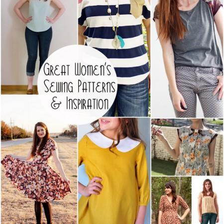 Great sewing patterns and inspiration for women's fashion at Rae Gun Ramblings