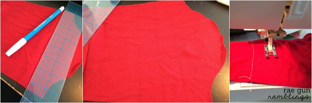 How to make quilted sleeves - Rae Gun Ramblings