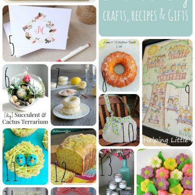 Block Party: Mother's Day Gifts, Recipes and Crafts Features