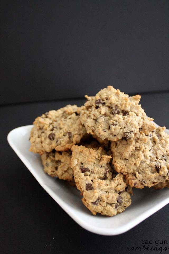 My new favorite Chocolate chip cookie recipe. Great to boost milk production and also dairy free - Rae Gun Ramblings