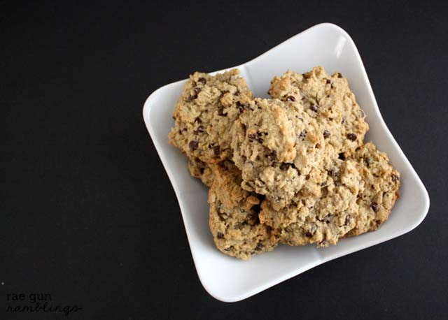 Fantastic oatmeal chocolate chip cookie recipes. Dairy free and also great for nursing moms - Rae Gun Ramblings