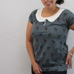 Free pattern Easy Tee with Peter Pan option - Rae Gun Ramblings