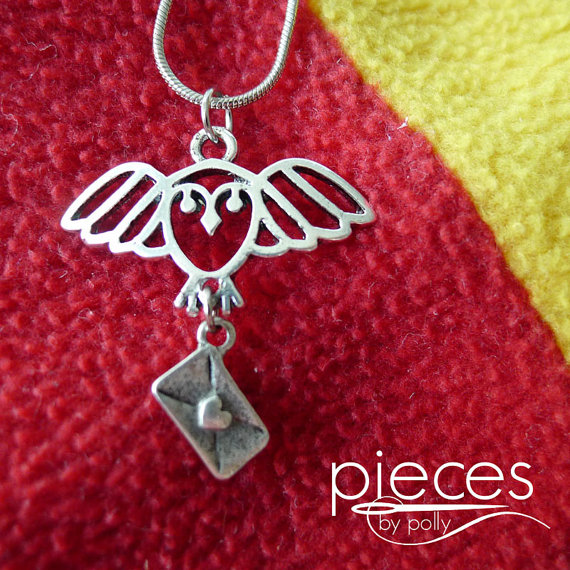Hedwig Letter Harry Potter Necklace - Rae Gun Ramblings