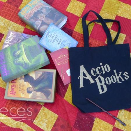 How to make an Accio Books bag.