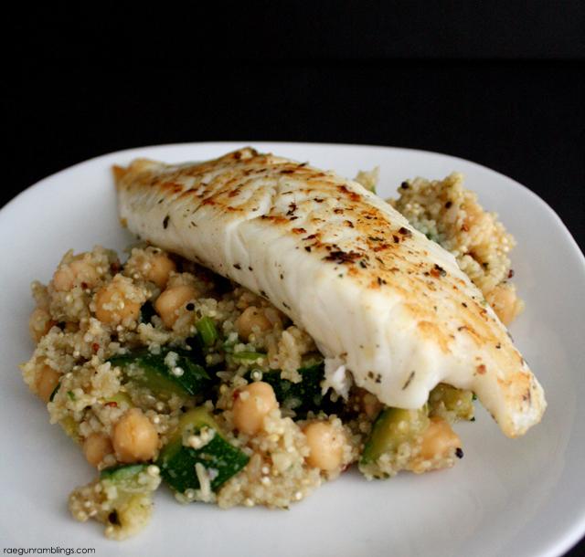 Lemon Zucchini Quinoa Salad Recipe - Rae Gun Ramblings