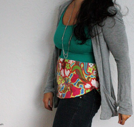 Make any shirt pop in with just 1/4 a yard of fabric and 15 minutes - Rae Gun Ramblings