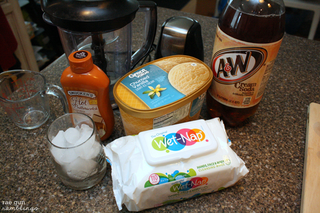 What you need to make Frozen Butterbeer at home - Rae Gun Ramblings