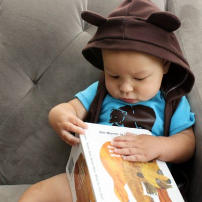 Brown Bear, Brown Bear, What Do You See? Book and Outfit Tutorial