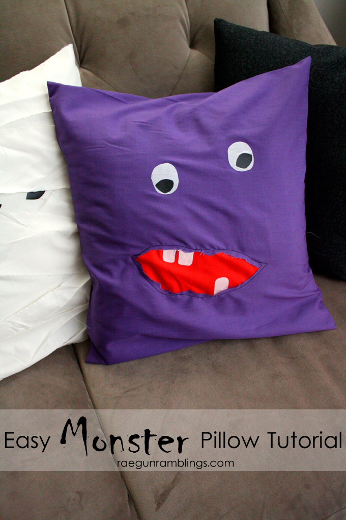 Monster Pillow Tutorial - Rae Gun Ramblings