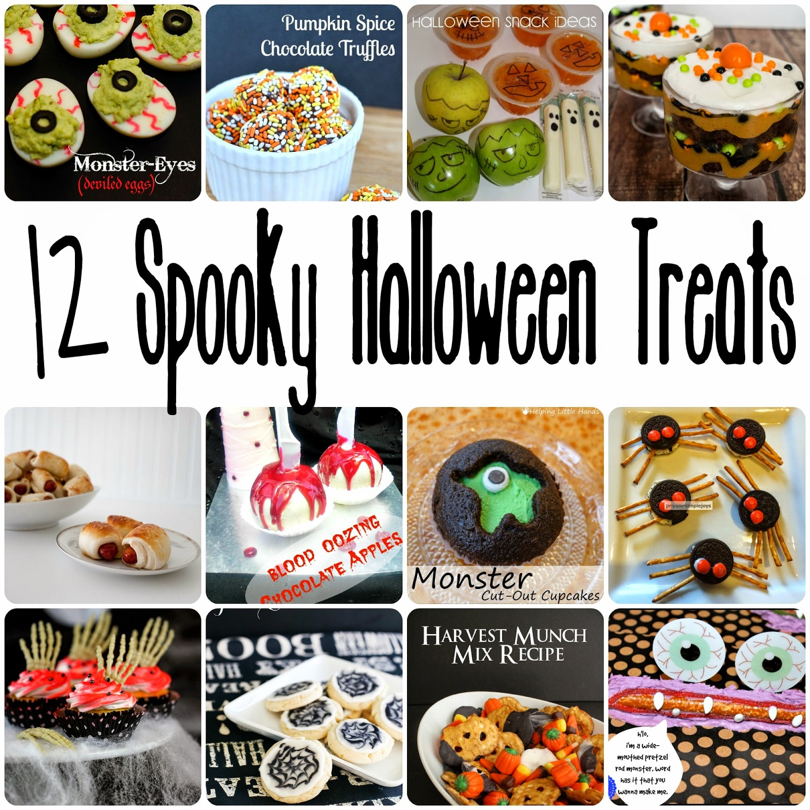 12 Spooky Halloween Treats - Rae Gun Ramblings