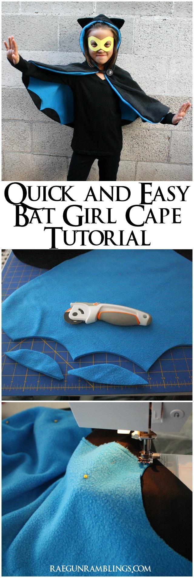 How to make a bat wing cape - Rae Gun Ramblings