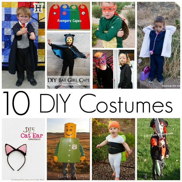 10 Easy diy costumes - Rae Gun Ramblings