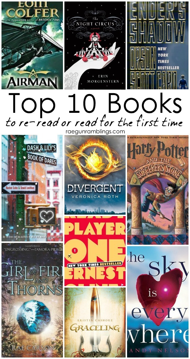 10 books worth rereading or adding to your list if you haven't read them yet! Rae Gun Ramblings
