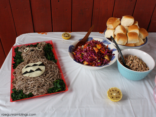 Totoro birthday party food ideas - Rae Gun Ramblings