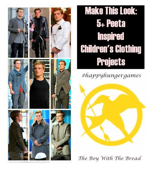 how to make Peeta's look 3hungergames #sewing