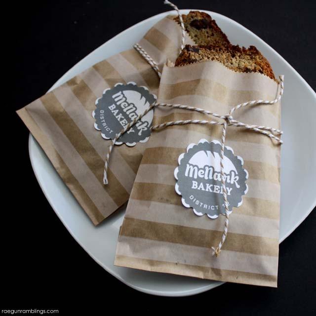 Mellark Bakery printable and Mrs. Mellark's banana bread recipe - Rae Gun Recipe