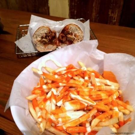 Buffalo blue cheese fries from Cubby's in Utah - Rae Gun Ramblings