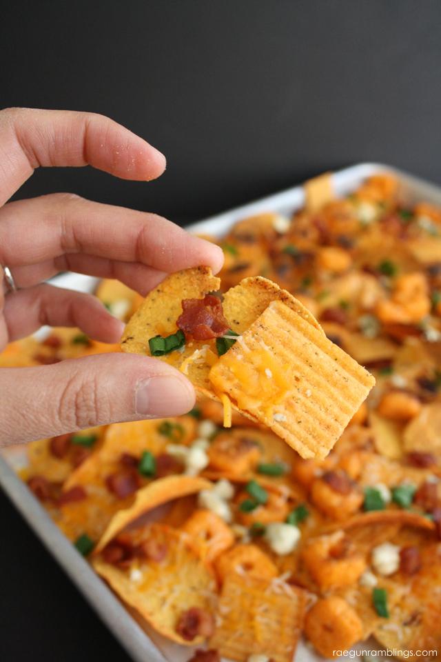 bacon cheez it nachos fun twist on regular nachos - Rae Gun Ramblings