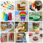 Great Rainbow crafts, recipes and more perfect for St. Patrick's Day
