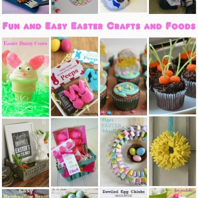 Block Party: Fun and Easy Easter Crafts and Food
