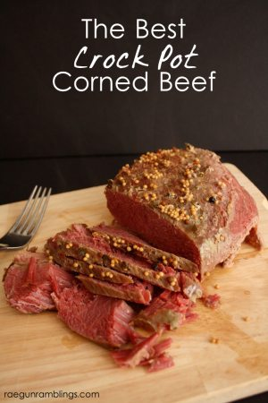 This is how I cook my corned beef (in the crock pot) for St. Patrick's Day every year and it works great!