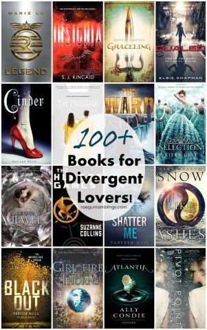 100  Books for Divergent Fans   Rae Gun Ramblings Divergent read a likes  If you liked Divergent you ll love these