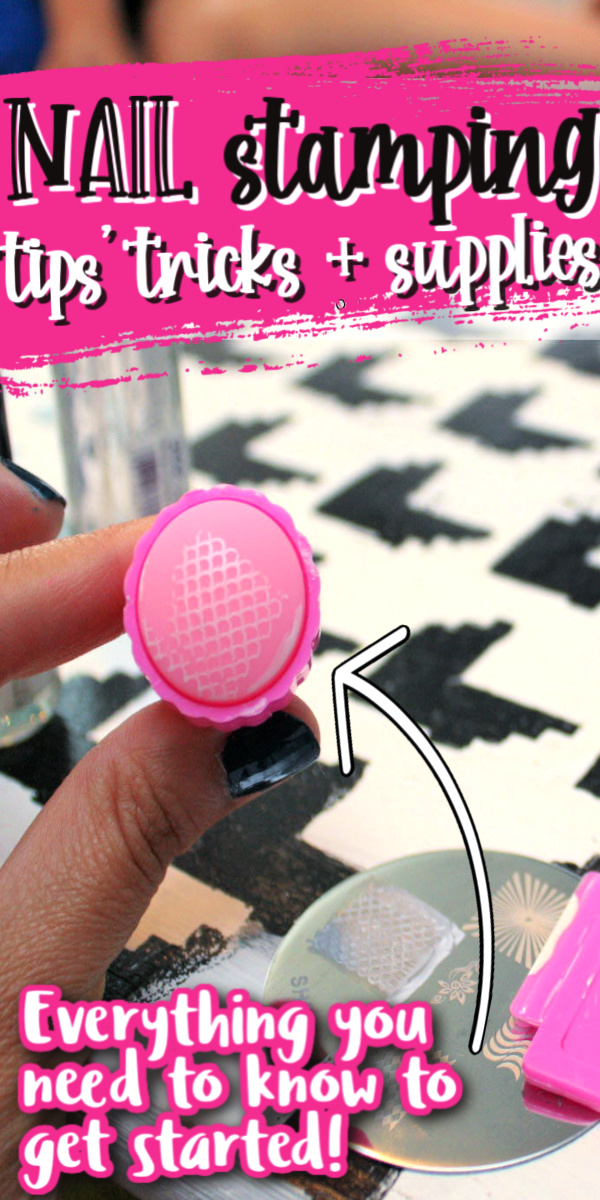 Nail Stamping tutorial and resourse list. This is golden.