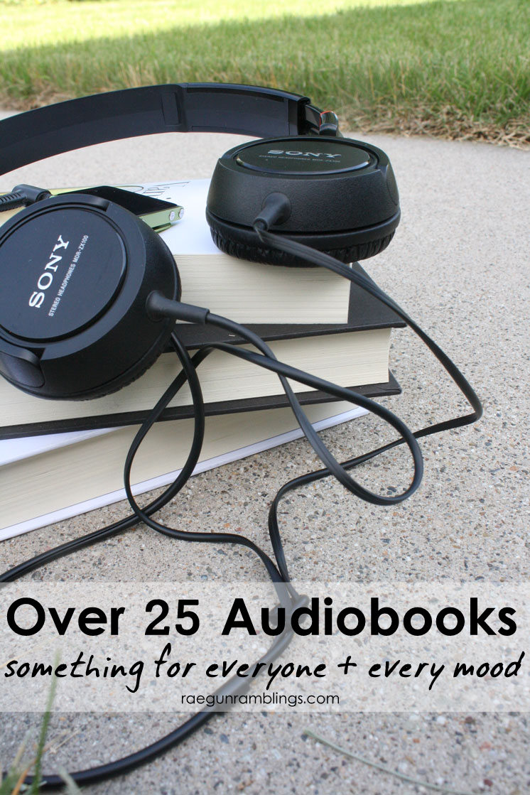 great list of audiobooks. Great books for Summer reading or road trips