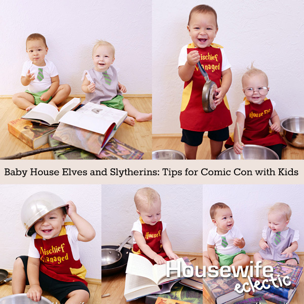Baby harry potter cosplay so awesome! and great tips for doing costumes with babies