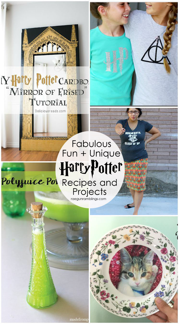 super awesome easy and unique harry potter diy projects and recipes