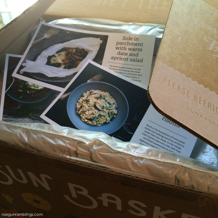 Sunbasket food delivery review and healthy recipe