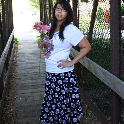 15 Minute Square Maxi Skirt Tutorial