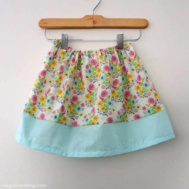20 minute banded skirt tutorial