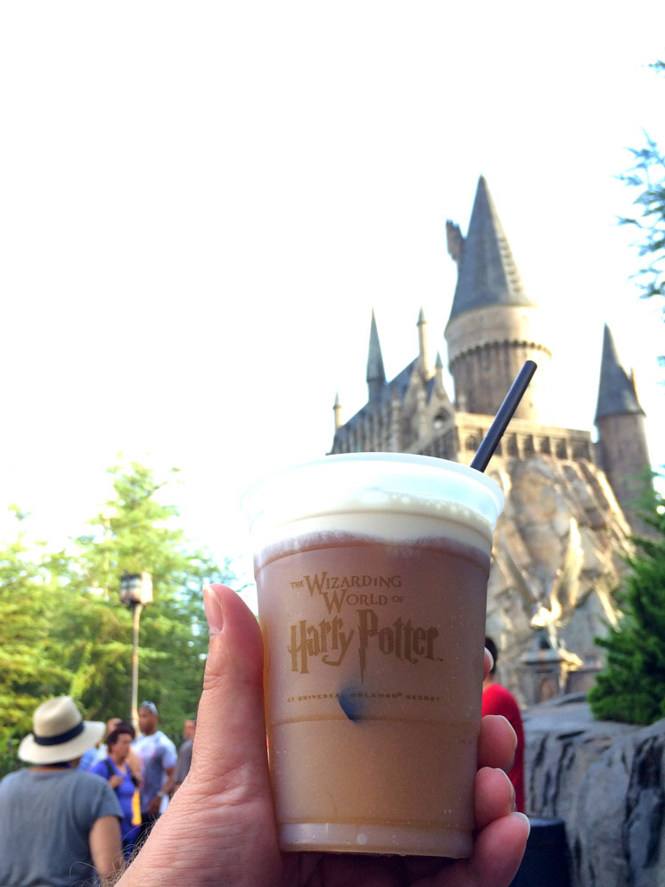 Best foods to eat at the wizarding world of harry potter number 1 is butterbeer