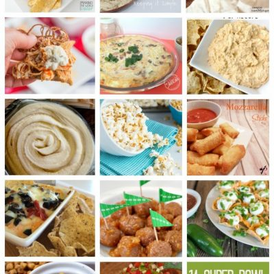 Super Bowl Food Ideas and Block Party