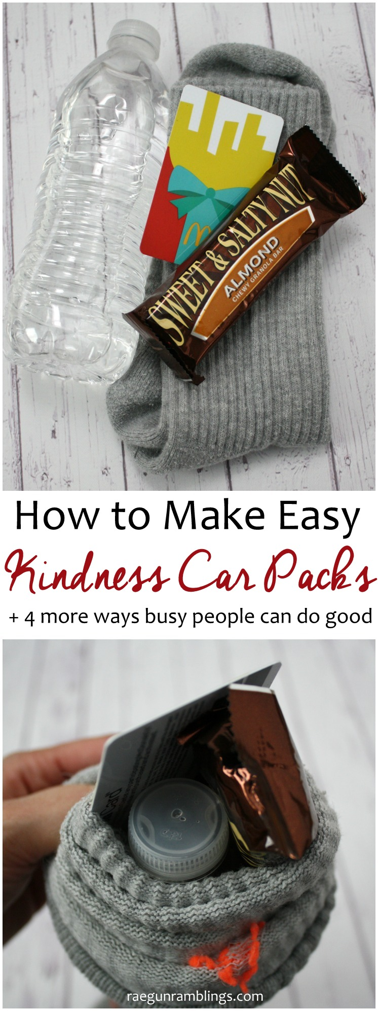 Love this idea to make kindness car parks to hand out to homeless people