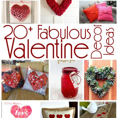 20+ DIY Valentine's Day Decor Ideas and Block Party
