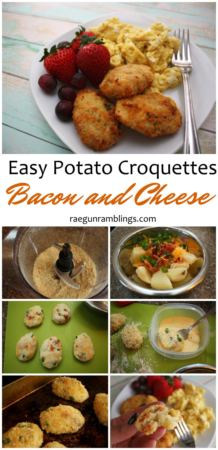 Love these croquettes they are a great snack or addition to brunch.