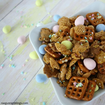 We're obsessed with this snack mix recipe. SO yummy make a double recipe to be safe.