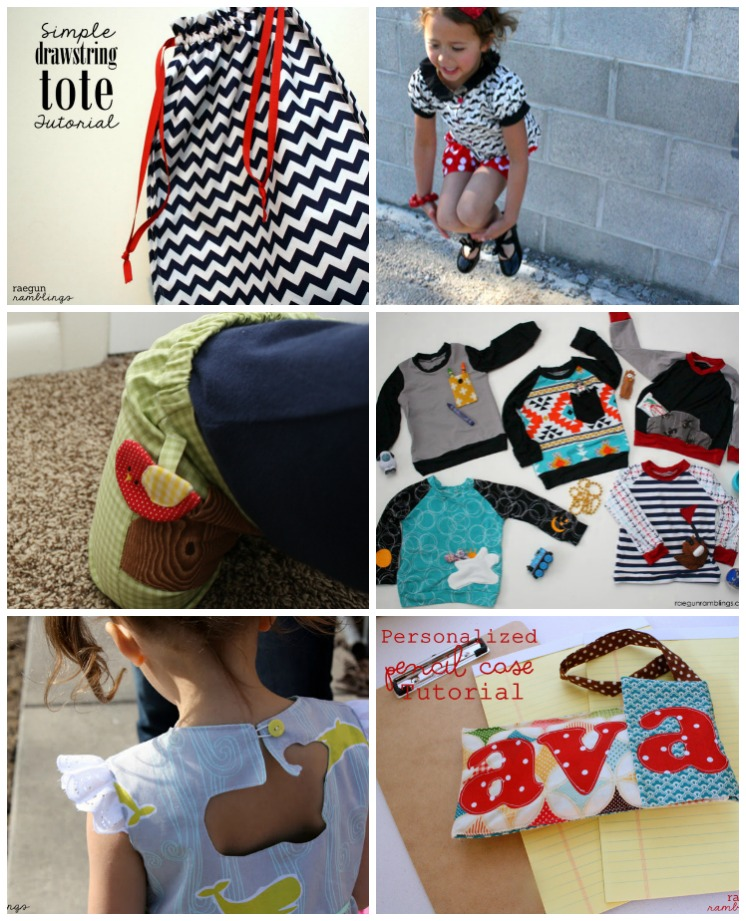 Tons of cute projects and they all use the same little know (inexpensive) sewing tool | Rae Gun Ramblings