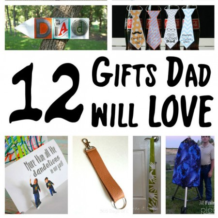 great diy gfits for dad. easy Father's Day gift tutorials