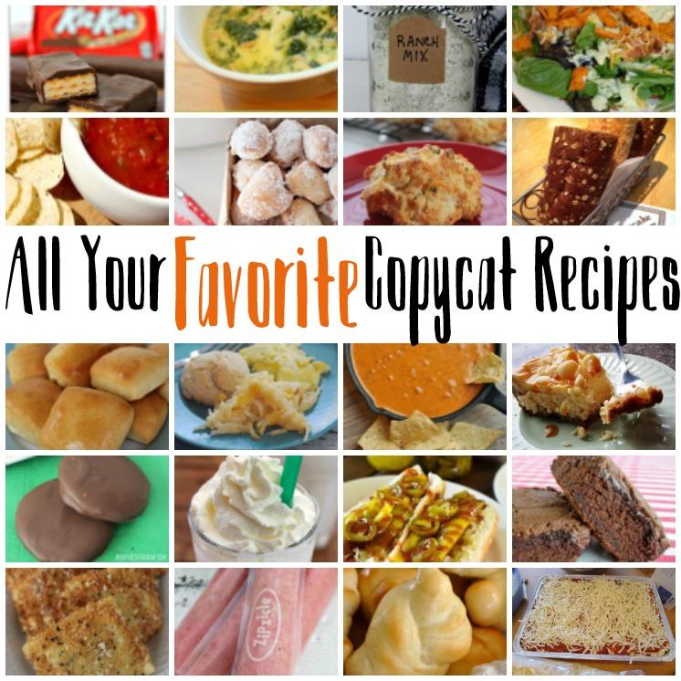 Fabulous copycat recipes