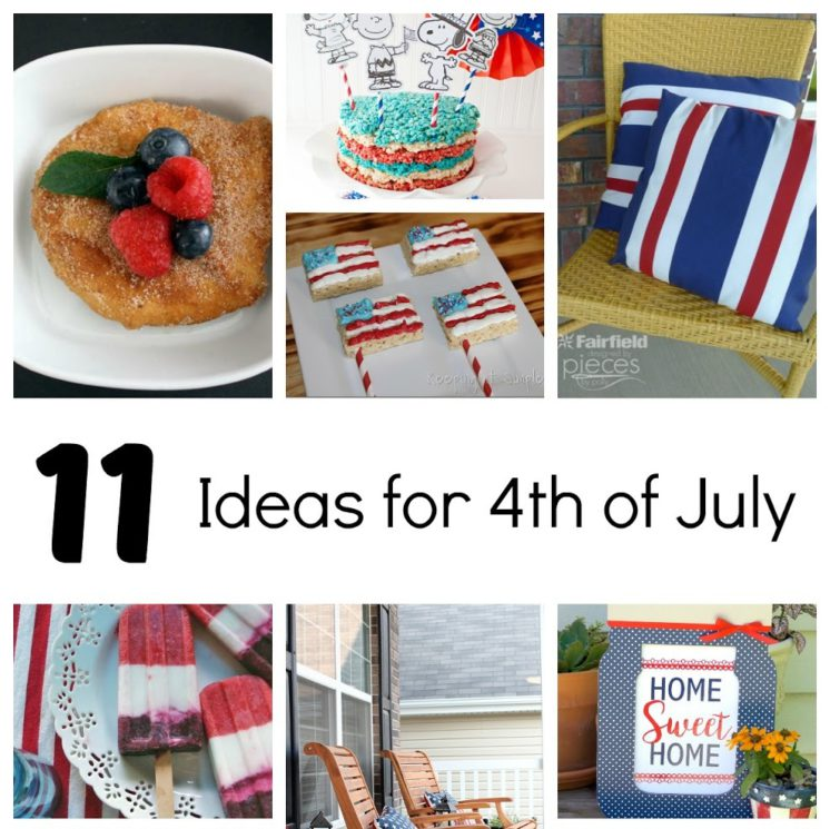 4th of July projects party ideas and recipes