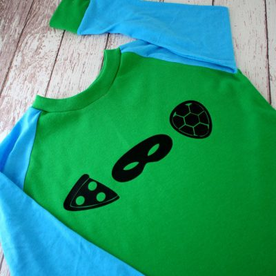 Easy TMNT Icon Shirt Tutorial