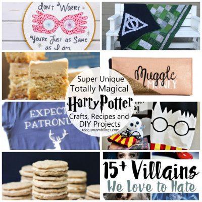 Happy Harry Potter Series: Days 7 + 8